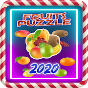 Sweet Fruits Puzzle Pop 2020 - Match 3 Games‏