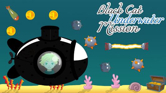 Black Cat Underwater Mission screenshot 0