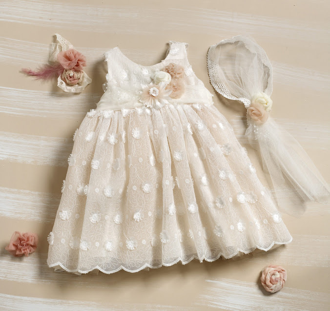 φορεματακι βαπτισης