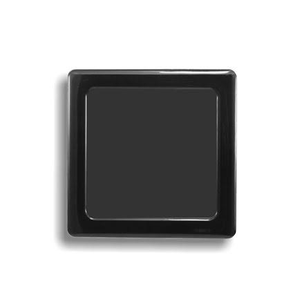 DEMCiflex magnetisk filter 80mm, firkantet, sort