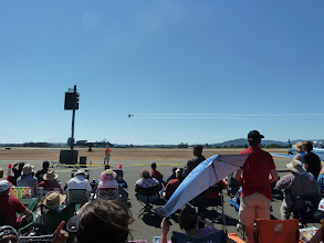 Photo: A-10 taxiing and Sea Fury flyby.