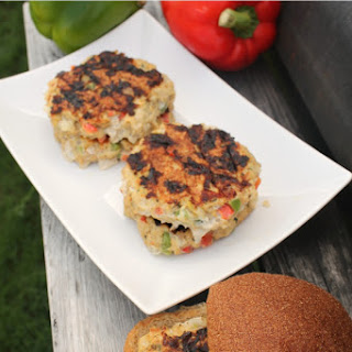 Grilled Chicken Burgers.