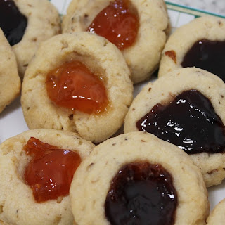 My Thumbprint Cookies.