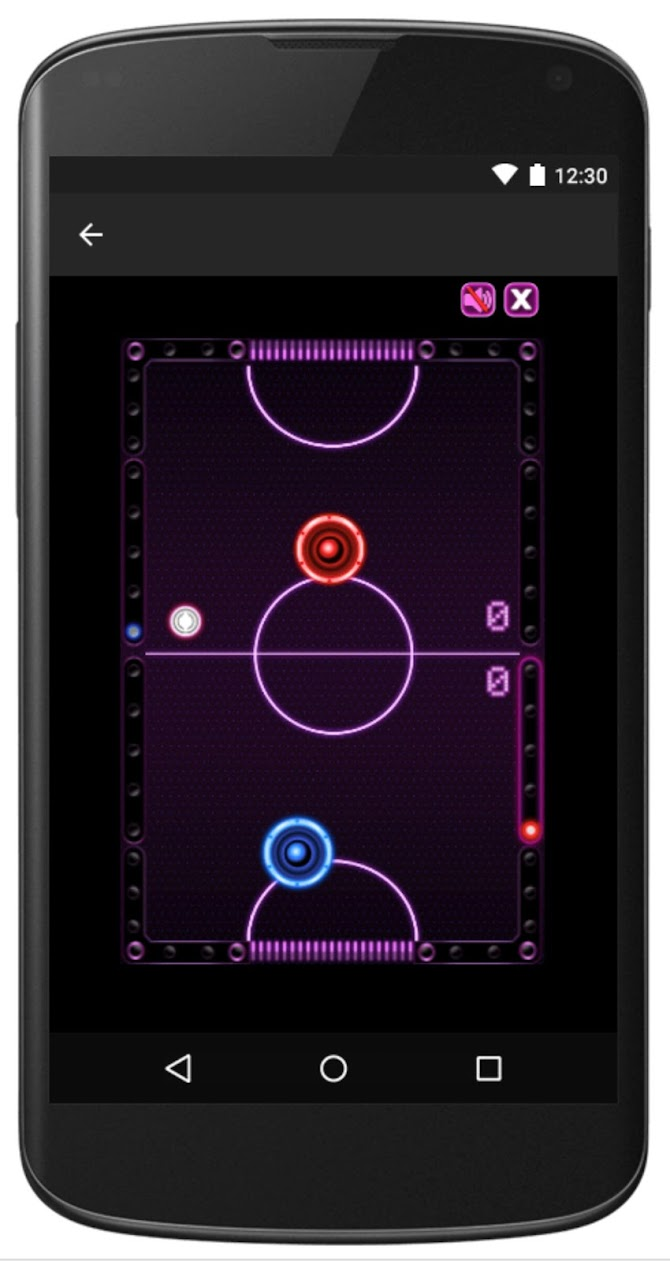 Air Hockey -Fast Paced Table-Sport Simulation Game Android 4