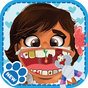 Kid Dentist game Moana for PC