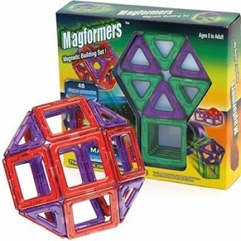 Magformers Rainbow Building Set - 14pcs