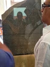 Photo: Rosetta Stone at The British Museum