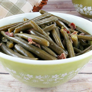 Grandma'S Best Old Fashioned Southern Style Green Beans Recipe