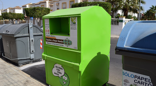 40 toneladas de ropa para reciclar
