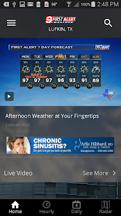 KTRE 9 First Alert Weather- screenshot thumbnail