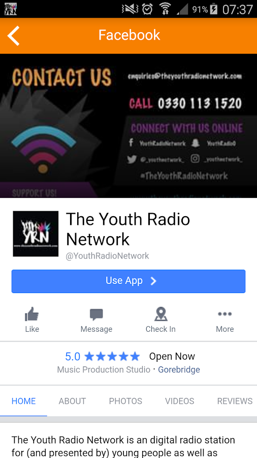 The Youth Radio Network- screenshot