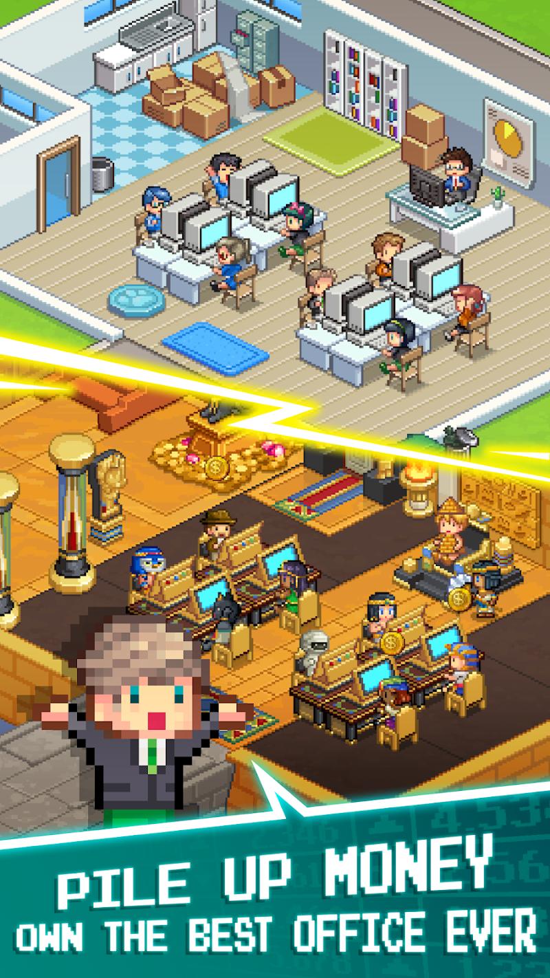 Tap Tap Trillionaire - Cash Clicker Adventure Screenshot 0