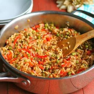 Vegan Paella with Soy Chorizo Recipe
