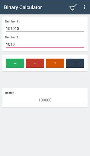 Screenshot 3 Binary Calculator