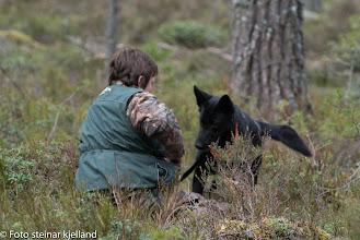 Photo: Vilma har funnet Inger Lise og vil gjerne ha kongen!