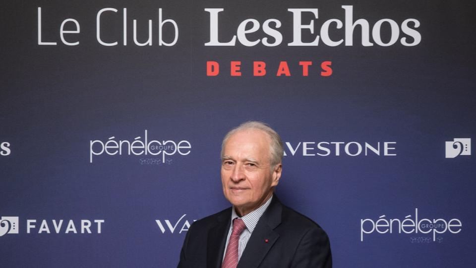Xavier HUILLARD au Club Les Echos Débats le 12 décembre 2017.