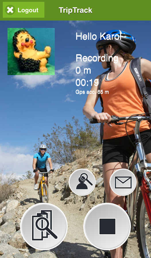 TripTrack GPS Recorder- screenshot