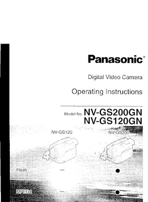Panasonic camcorder pv-gs120 manual.
