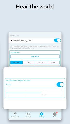 Petralex Hearing Aid App 3.5.5 screenshots 7