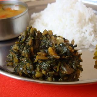 Palakura Vepudu ~ Spinach Stir Fry (2) Recipe