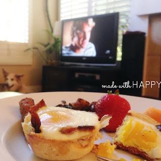 Toast Bacon & Egg Cups