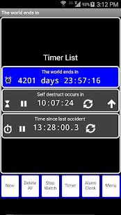 OneTouch Timer Ad Free- screenshot thumbnail