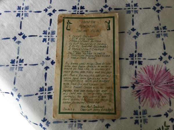 Found This Recipe 47 Years Ago, It's Stained And Worn, Make It Often!