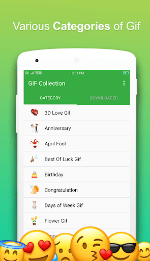 GIF For WhatsApp 2.0.8 screenshots 1
