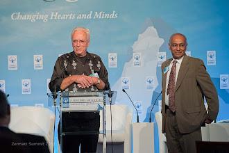 Photo: Francisco Van der Hoff, Max Havelaar & Prof. Prabhu Guptara