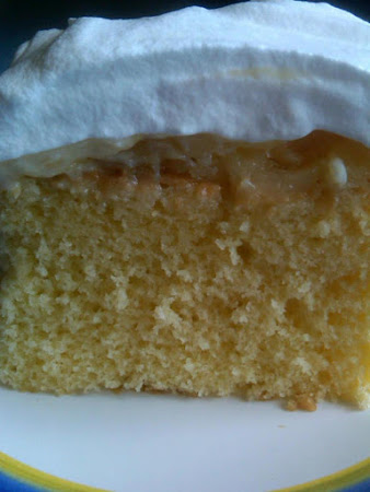 Pineapple Dream Cake AKA Daffodil Cake Recipe