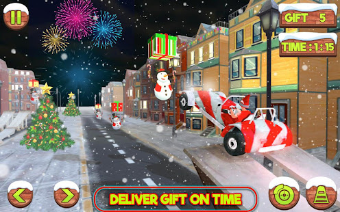 Santa Claus Stunt Car Christmas Gift Delivery for PC-Windows 7,8,10 and Mac apk screenshot 7