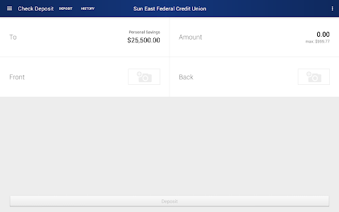 Sun East Federal Credit Union screenshot 9