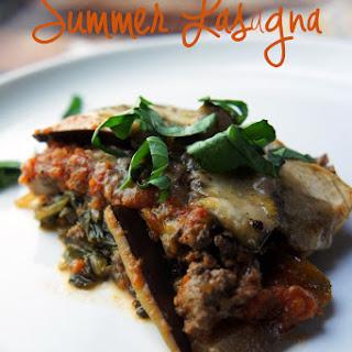 Summer Vegetable Lasagna.