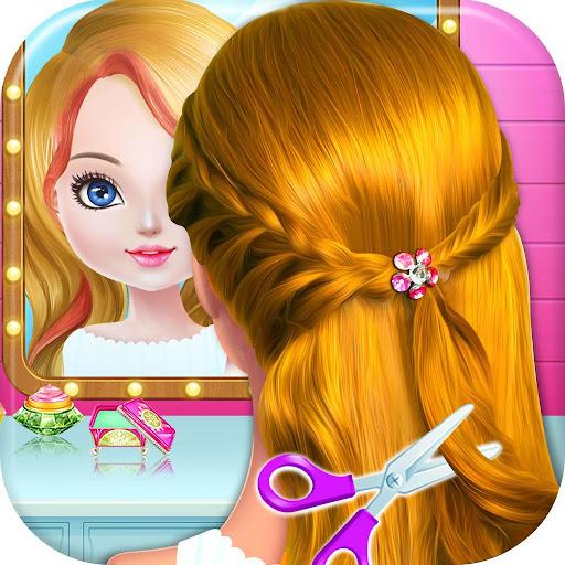 School kids Hair styles-Makeup Artist Girls Salon for PC