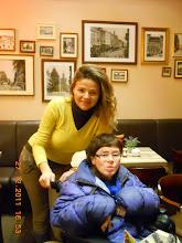 Photo: 27 XII 2011 roku - w lokalu z Moniką  Kubiak