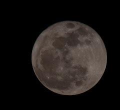 Photo: The full moon over Moab, Utah during the Adventure Rabbi Passover Retreat.