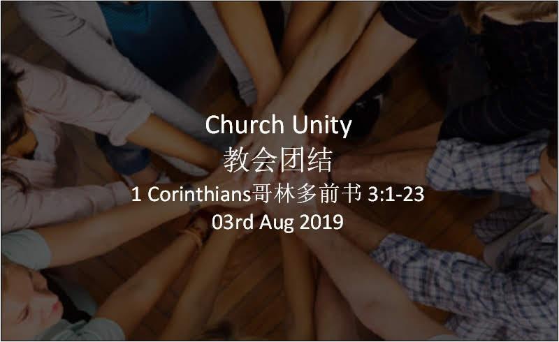 Church Unity(教会团结)