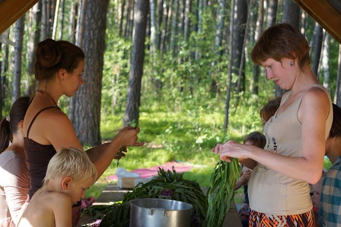 Семейный лагерь Во лузях 2015