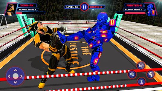 Robot Ring Fighting-Superhero Robot VS Real Robot 4