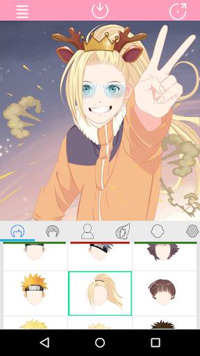 Anime Factory: Anime Character Generator 1.1.0 screenshots 2