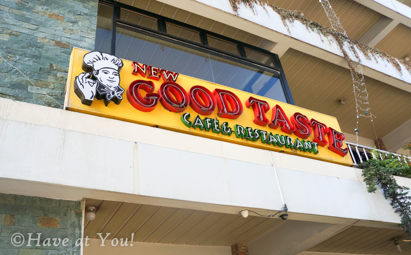 Good Taste logo outside their building