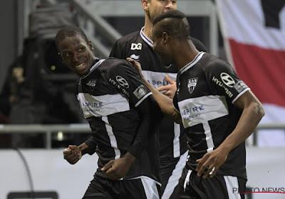 Ibrahim Diallo scoorde tegen Kortrijk zijn eerste goal uit zijn carrière