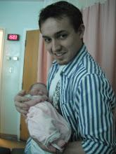 Photo: Uncle Chris meets Audrey