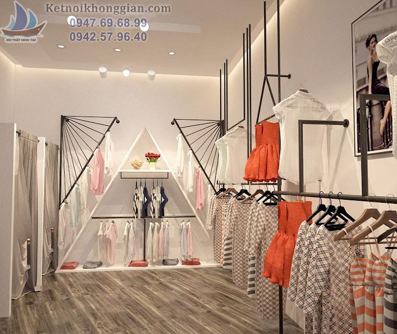 thiết kế shop thời trang độc đáo sáng tạo tuyệt vời