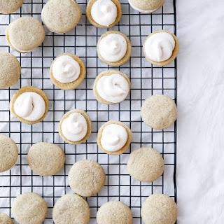 Chai Latte Sandwich Cookies