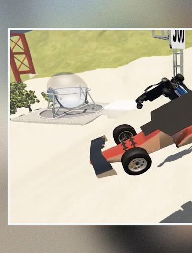 لقطات تجول BeamNG Drive Car Crash 9