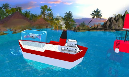 Transporter Ship Shark Aquarum screenshot 3