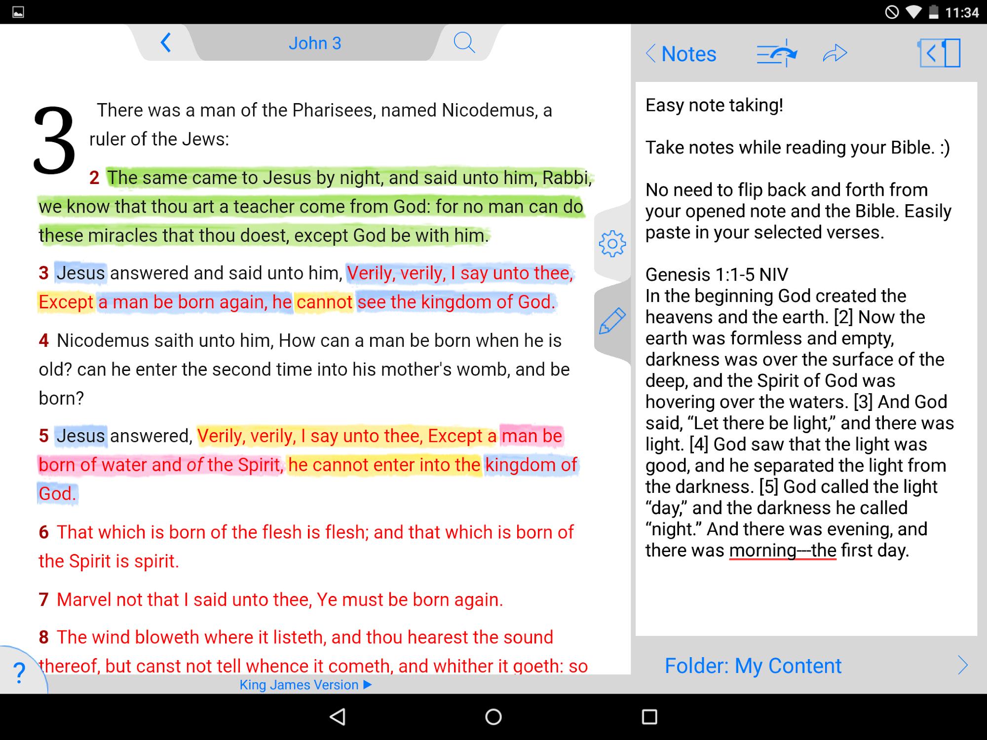 NKJV Bible screenshot #12