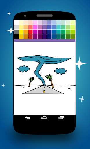 Twister Coloring Pages screenshot 3