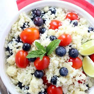Parmesan Cauliflower Salad.